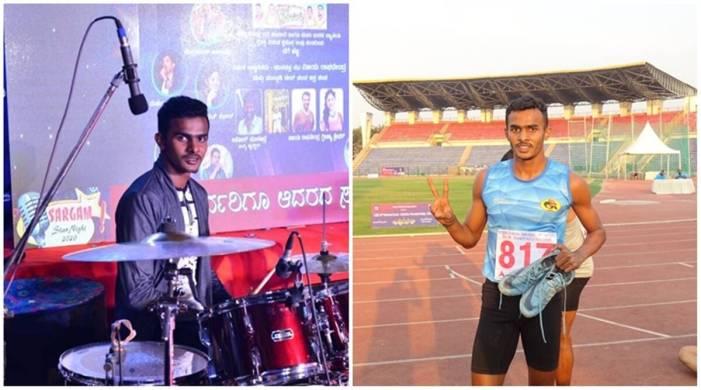 Drummer Devadiga finds his rhythm on the athletics track