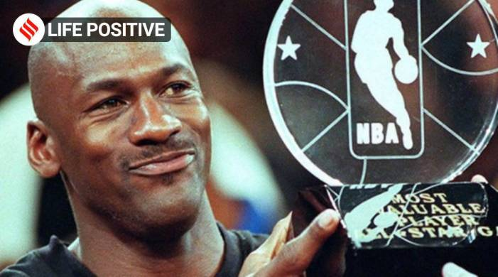 Fear only exists in our thoughts of the future: Michael Jordan