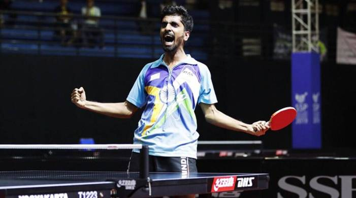 G Sathiyan ends long wait for national title with win over veteran Sharath Kamal