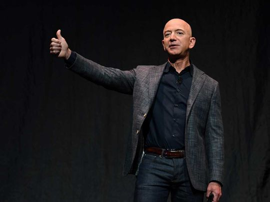 Infographic: Amazon's Jeff Bezos to step aside as chief executive