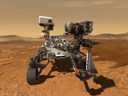 Infographic: NASA's Mars 2020 mission