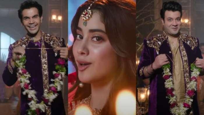 Janhvi Kapoor casts her spell on Rajkummar Rao, Varun Sharma in peppy track