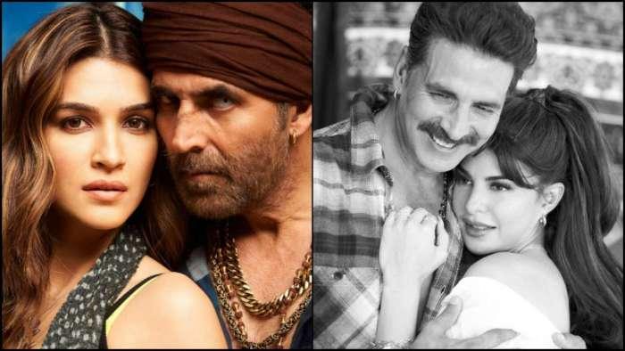 Kriti Sanon wraps schedule with Akshay Kumar, Jacqueline Fernandez kickstarts shoot with him