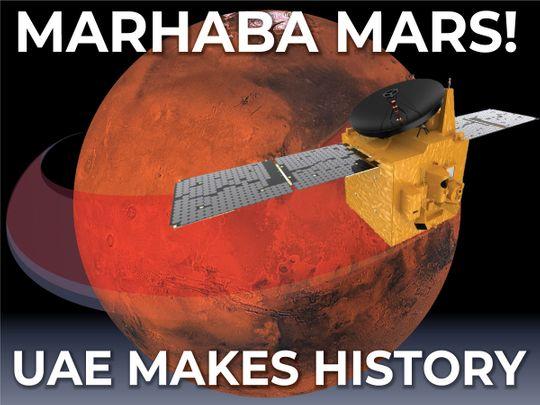 Marhaba Mars! UAE Hope Probe heads toward Mars orbital insertion