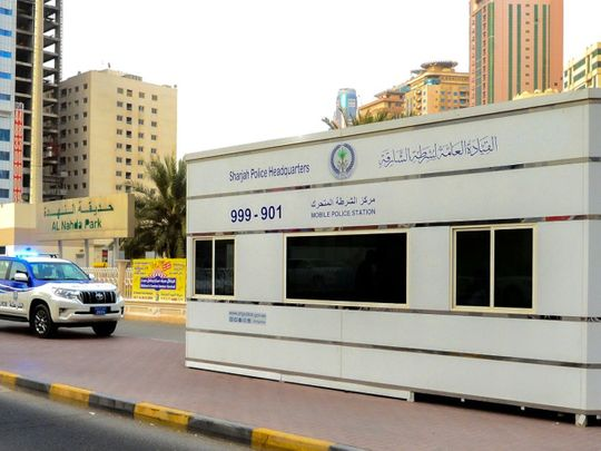 Mobile police station returns to Al Nahda, Sharjah permanently
