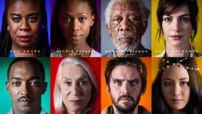 Morgan Freeman, Anne Hathaway, Helen Mirren, Uzo Aduba, Anthony Mackie, Dan Stevens, Constance Wu to star in 'Solos'