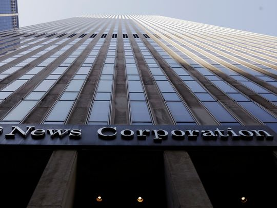 News Corp signs news partnership deal with Google