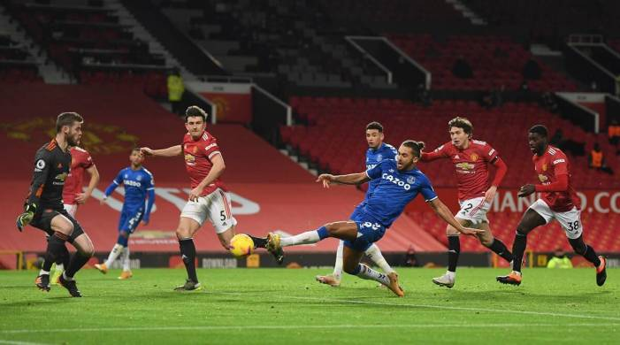 Premier League: Man United concede in stoppage time, draw with Everton 3-3
