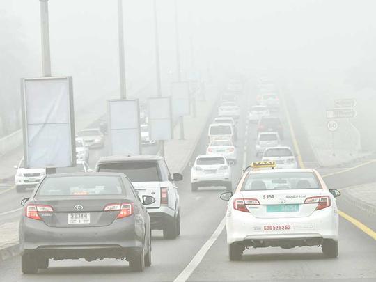 Sharjah Police bans trucks on roads during fog