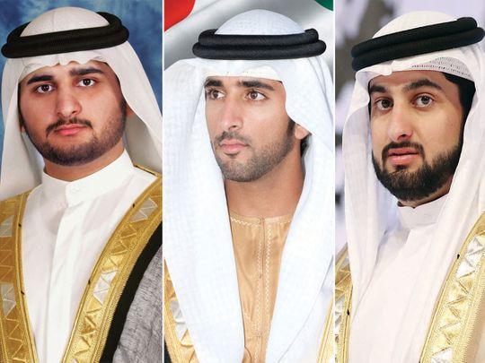Sheikh Hamdan, Sheikh Maktoum and Sheikh Ahmed hail UAE Hope Probe success