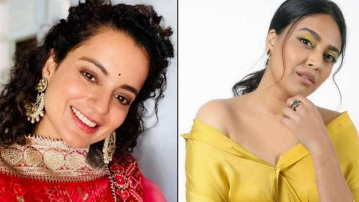 Swara Bhasker disagrees with Kangana Ranaut's reaction to Sukhdev Panse's 'naachne gaane waali' comment