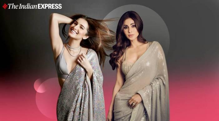 Tara Sutaria or Mouni Roy: Who wore this Manish Malhotra sequin sari better?