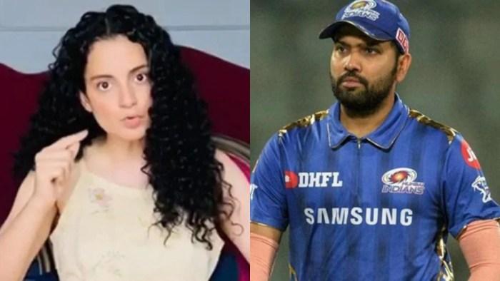 Twitter deletes Kangana's tweet calling Rohit Sharma and other cricketers 'Dhobi ka Kutta'