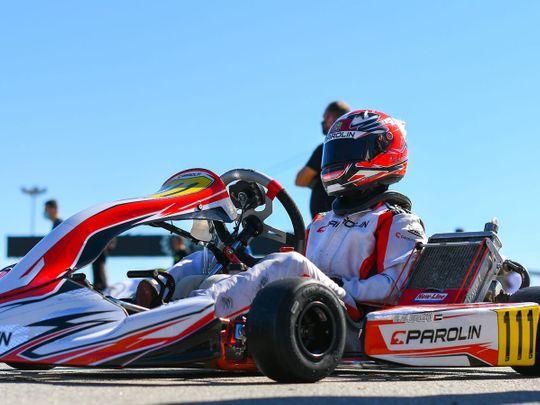 UAE's Rashid Al Dhaheri draws first blood in new karting season