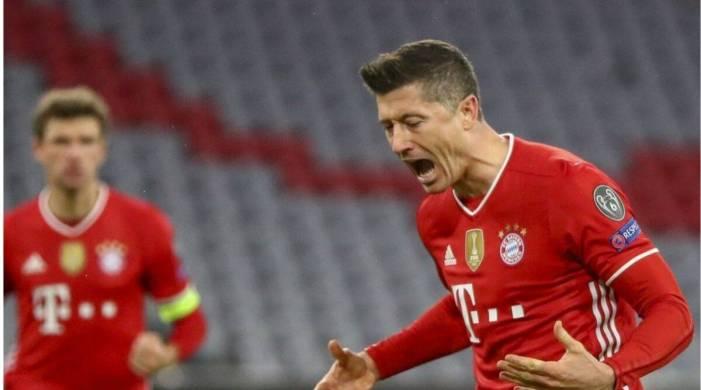 Bayern beat Lazio for Champions League quarterfinal spot