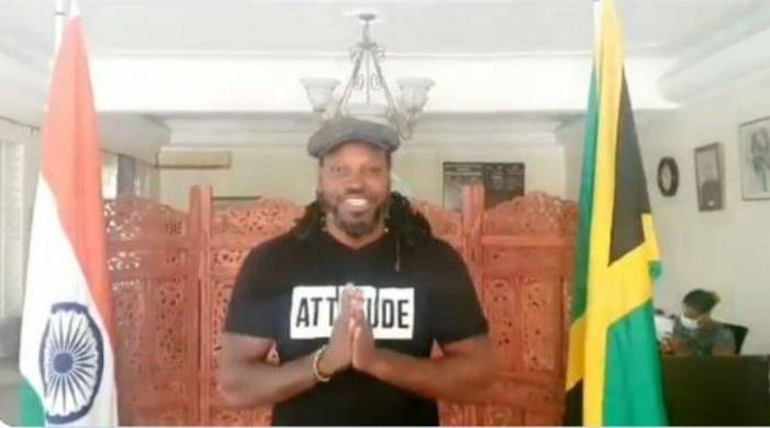 Chris Gayle thanks India for sending Covid-19 vaccine to Jamaica