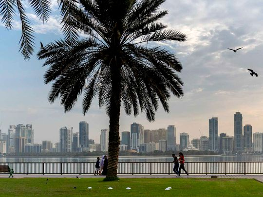 UAE: Today's weather is dusty, partly cloudy and expect light rain in Dubai, Sharjah, and other emirates