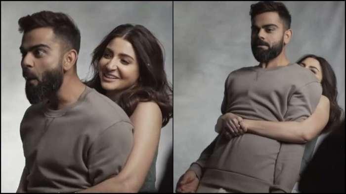 Anushka Sharma lifts husband Virat Kohli, Indian skipper says 'O Teri' in shock