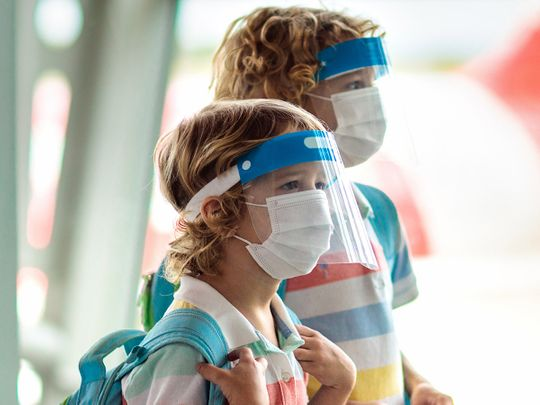 COVID-19: Children below three years should wear face shields, says health official