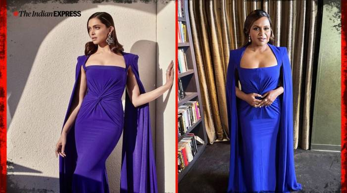 Celeb twinning: Mindy Kaling's SAG awards outfit reminds us of Deepika Padukone's look from last year