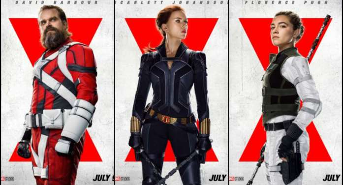 Make way for exciting character posters of Scarlett Johansson, Florence Pugh, David Harbour and others