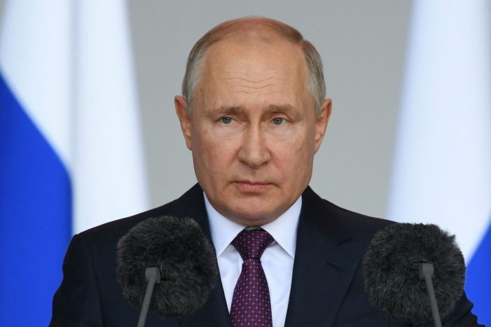 Vladimir Putin is to self-isolate after Covid detected in entourage