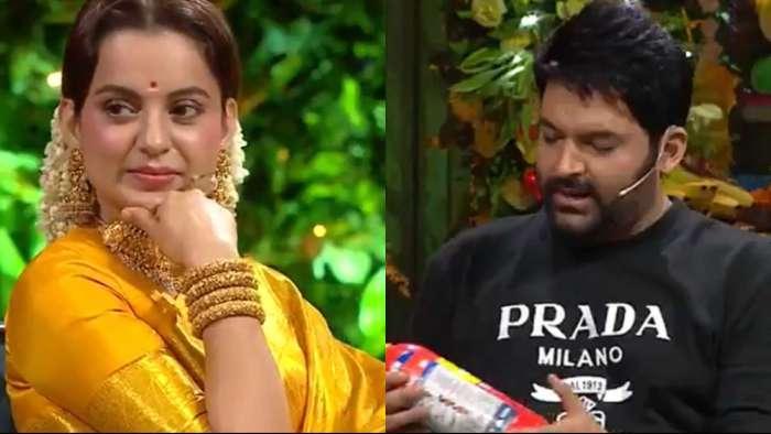 'Itne din ho gaye, controversy nahi hui': Kapil Sharma hilariously asks Kangana Ranaut on his show