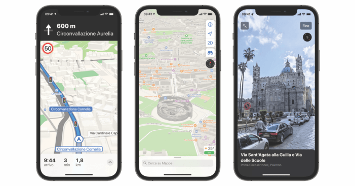 Apple Maps 'Look Around' and enhanced data now expanded to Italy