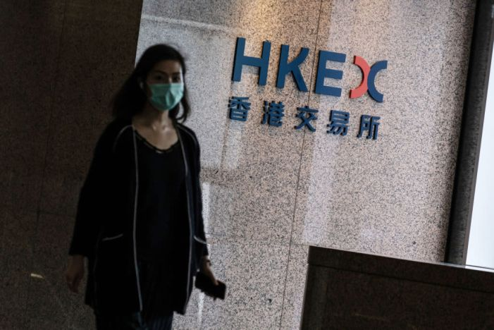 Asia-Pacific shares mixed; Evergrande shares in Hong Kong plunge