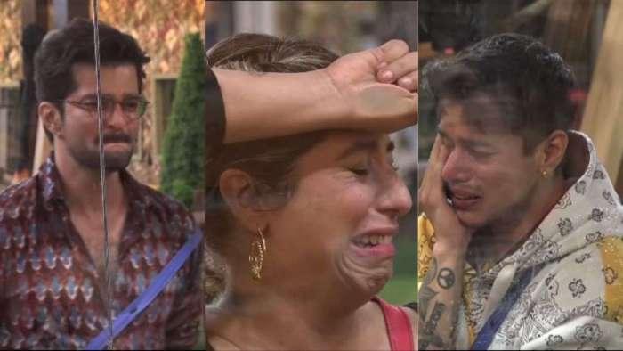 Neha, Shamita, Raqesh, Pratik, Nishant get emotional after meeting family members in finale week- watch