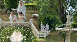 Soha Ali Khan, Sharmila Tagore offer prayers at Mansur Ali Khan Pataudi's grave on his death anniversary