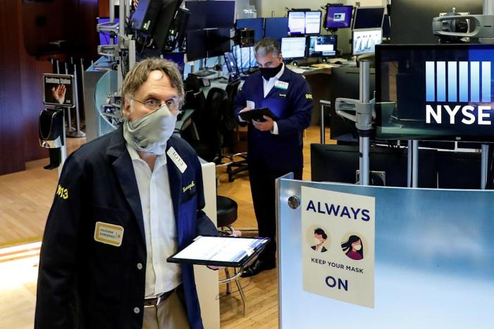 Stock market news live updates: Wall Street ends 5-day losing streak; Apple sinks after Epic ruling