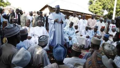 Photo of Rousing welcome as Senate President visit Yobe