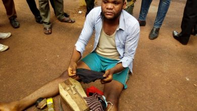 Photo of BREAKING: Police recovers coffin, multiple female underwears from Enugu pastor's house [PHOTO]