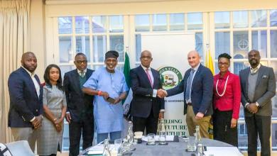 Photo of Gov. Abiodun meets UK-based solutions company, led by the CEO, Alan Parker.