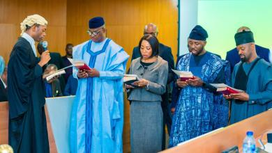 Photo of Ogun Governor, Abiodun Swears In 8 New Advisers