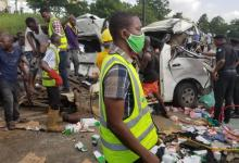 Photo of UPDATED : One Killed, Many Injured In Otedola Auto Crash – (See Videos)