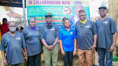 Photo of ROTARY CLUB DONATES HAND WASHING UNIT/BASIN, OTHERS TO PHC