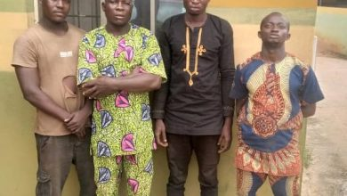 Photo of Four men arrested for beating police constable to death in Ogun