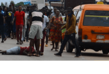 Photo of Breaking: Obaseki's supporter falls from speeding vehicle