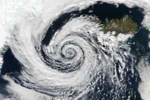 The eye of the storm (credit NASA Rapid Response)