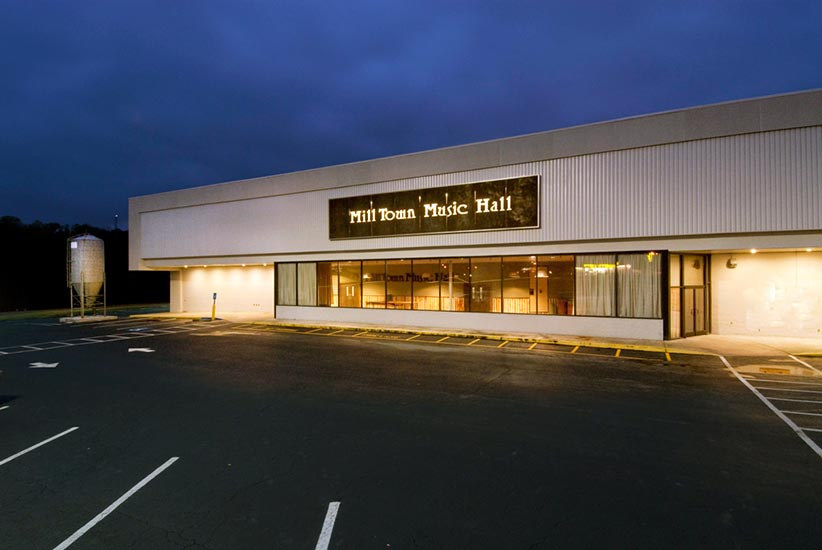 Mill Town Music Hall exterior