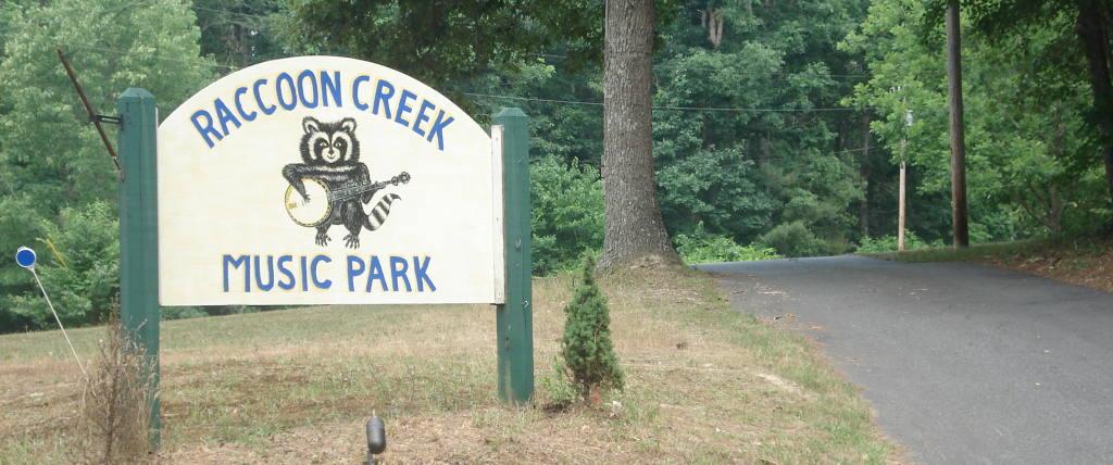 Raccoon Creek Sign