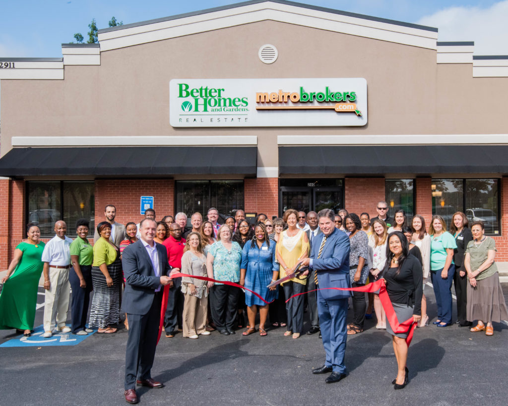 Better Homes And Gardens Real Estate Metro Brokers Holds Ribbon Cutting For  Totally Remodeled Office