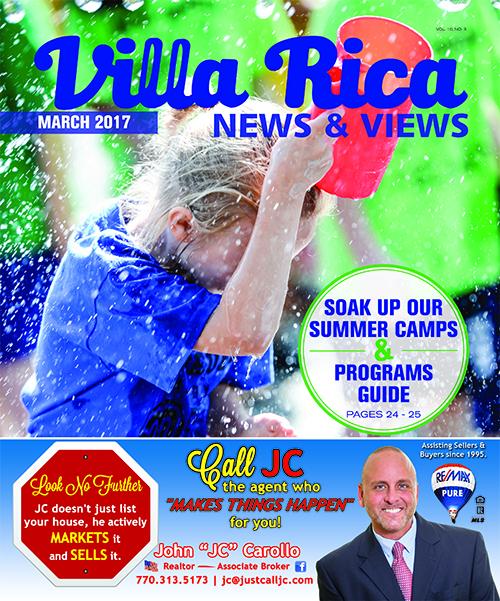 Villa Rica News & Views March 2017 Cover