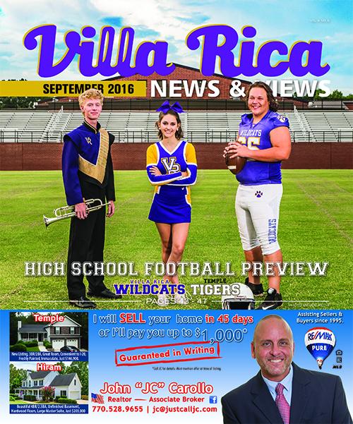 Villa Rica News & Views High School Football issue