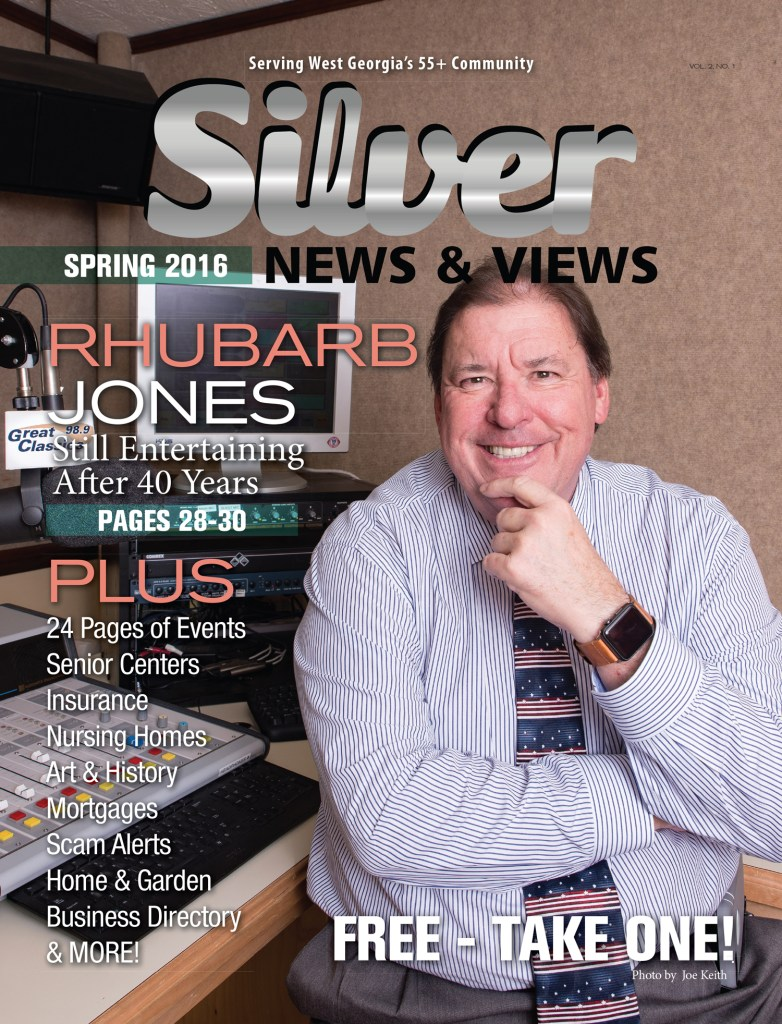 Rhubarb Jones Interview in Silver News & Views - Cover