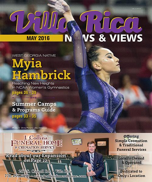 Villa Rica news & Views May 2016 Cover