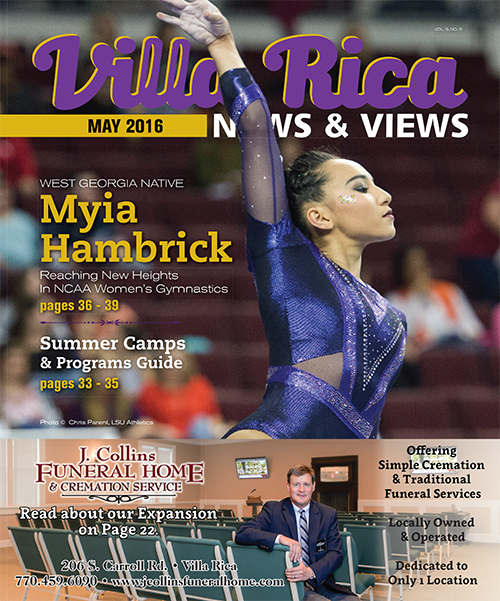 Villa Rica news & Views May 2016 Cover