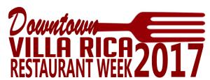 Downtown Villa Rica Restaurant Week 2017